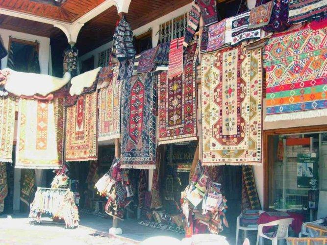 المنسوجات اليدوية في أسواق موغلا