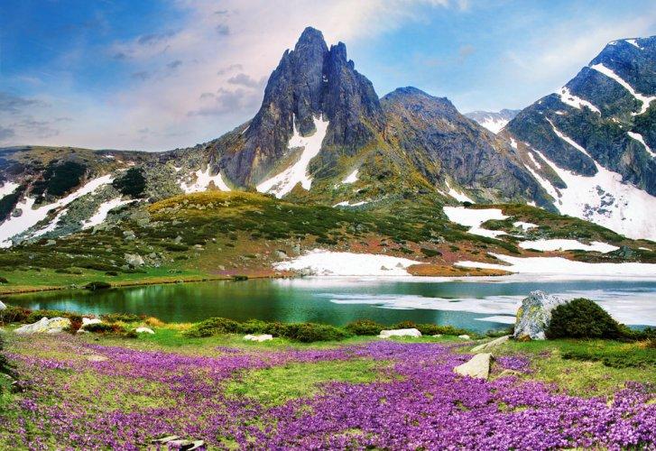 جمال الجبال في بلغاريا
