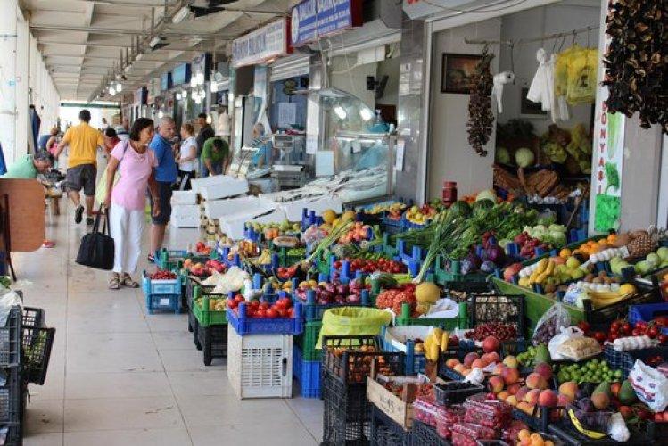 سوق Marmaris Pazarı موغلا تركيا