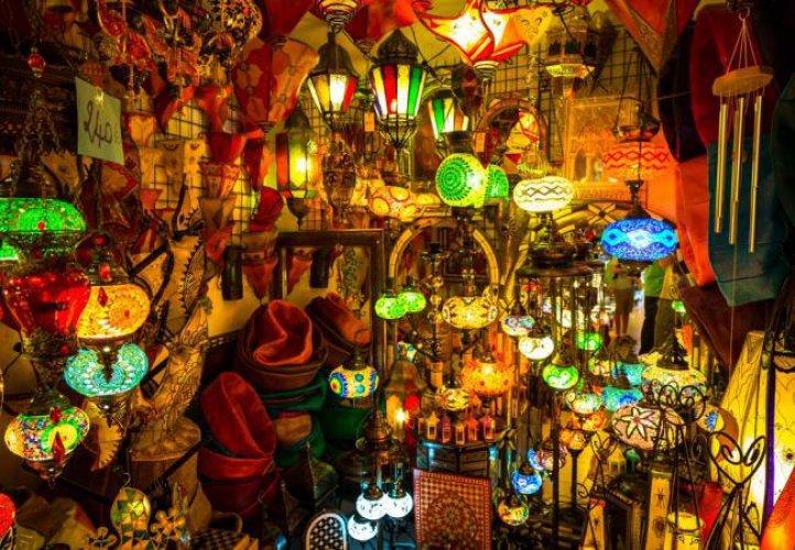 الاسواق القديمة في مراكش