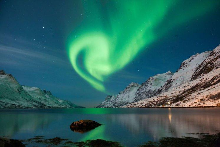 الشفق القطبي في تروسمو في أوسلو