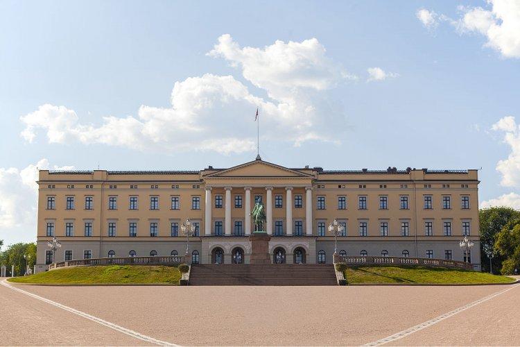 القصر الملكي في أوسلو