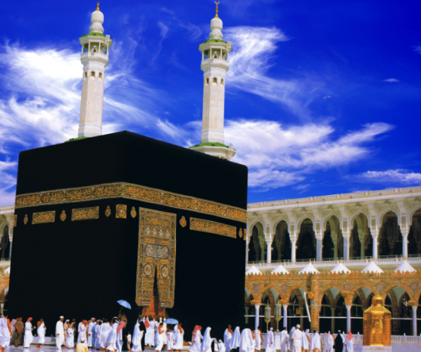 الكعبة في مكة المكرمة