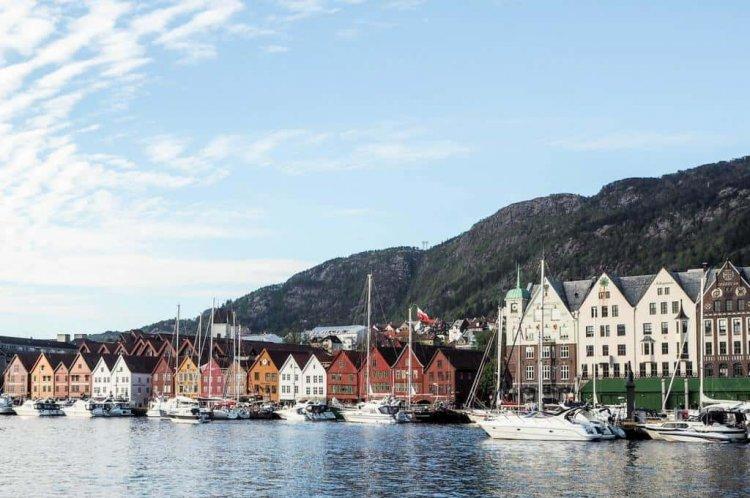 المضايق البحرية في بيرغن النرويج