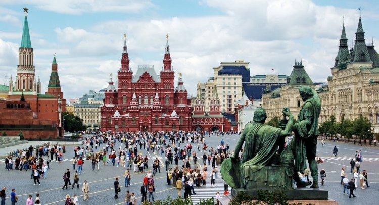 الميدان الأحمر في روسيا