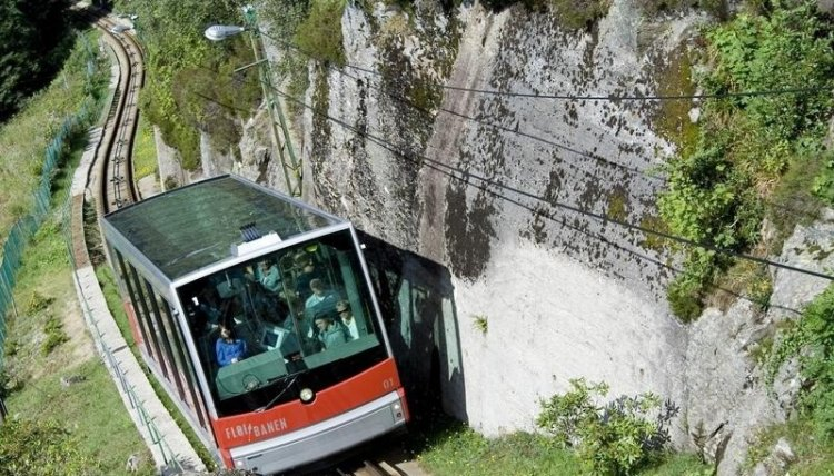 سكة حديد فلويبانين في بيرغن النرويج