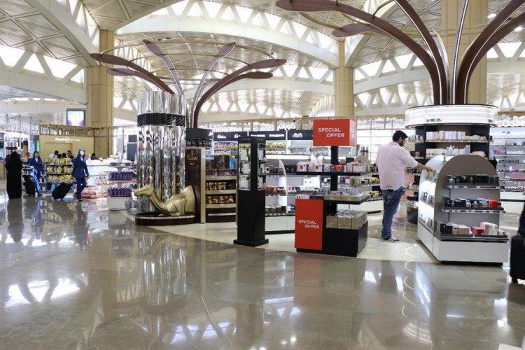 السوق الحرة في مطار الملك خالد