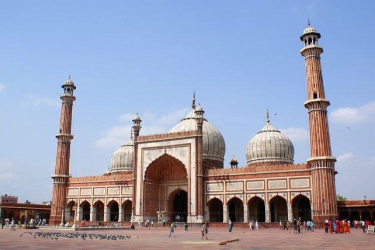 مسجد الجامع في نيودلهي