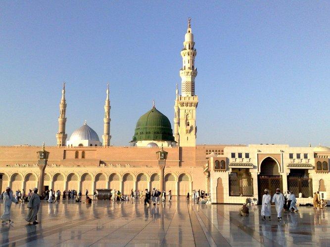 مسجد الرسولفي مدينة تبوك