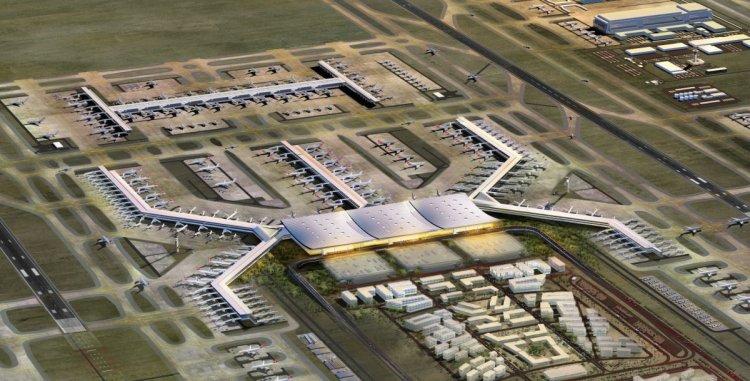 أكبر مطار في العالم