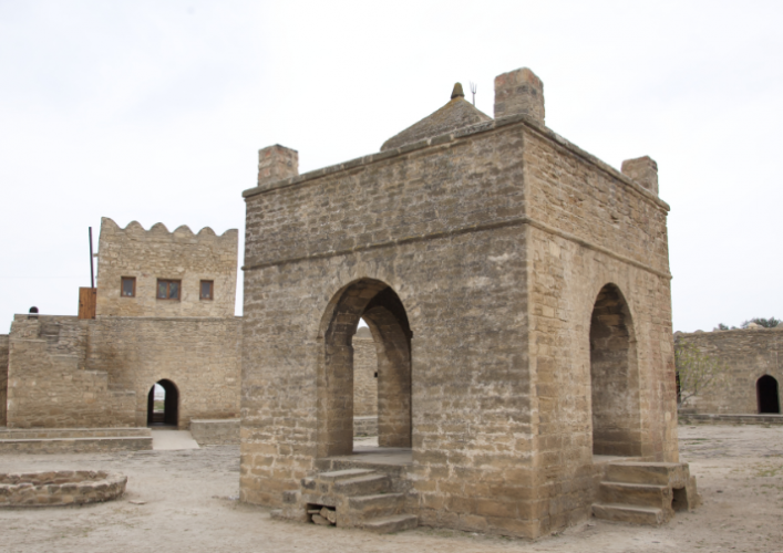 معبد النار الباكوي في أذربيجان