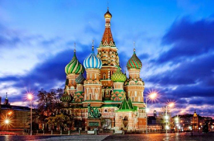 كاتدرائية القديس باسيل في روسيا