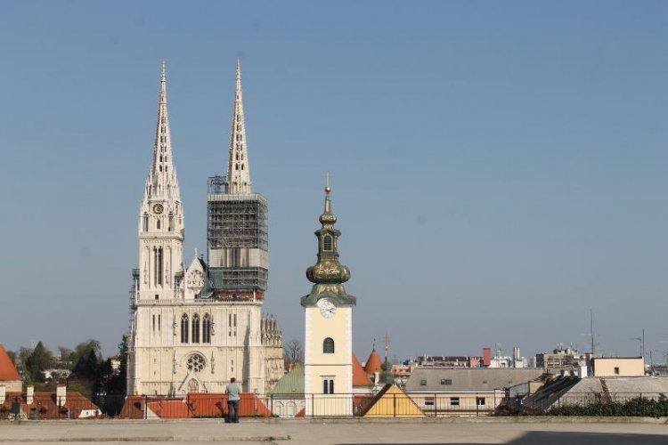 كاتدرائية زغرب كرواتيا