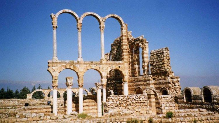 معبد الحضارة الاموية في عنجر