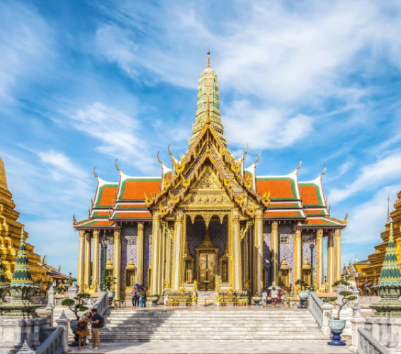 The Grand Palace & Wat Phra Kaew في بانكوك