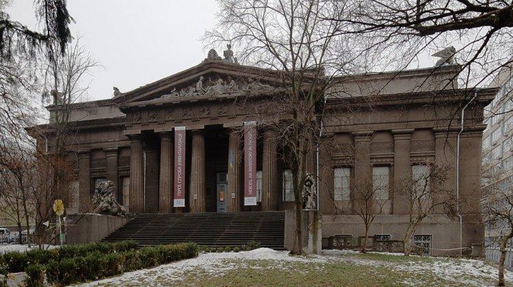 المتحف الوطني للفنون في كييف أوكرانيا