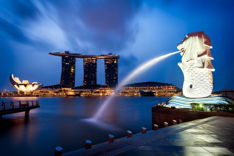 تمال الاسد رمز سنغافورة