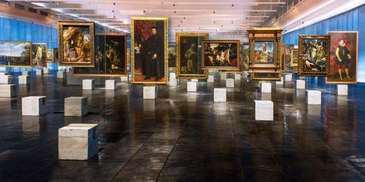 لوحات من متحف ساو باولو للفن في ساو باولو