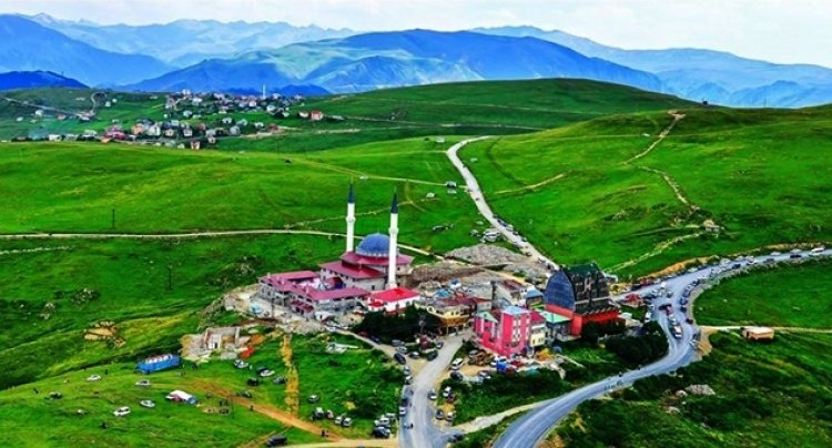 مرتفعات السلطان مراد في أوزنجول