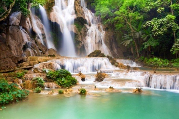 مدينة وانغ برابانغ في لاوس