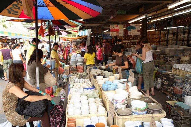التسوق في تايلاند