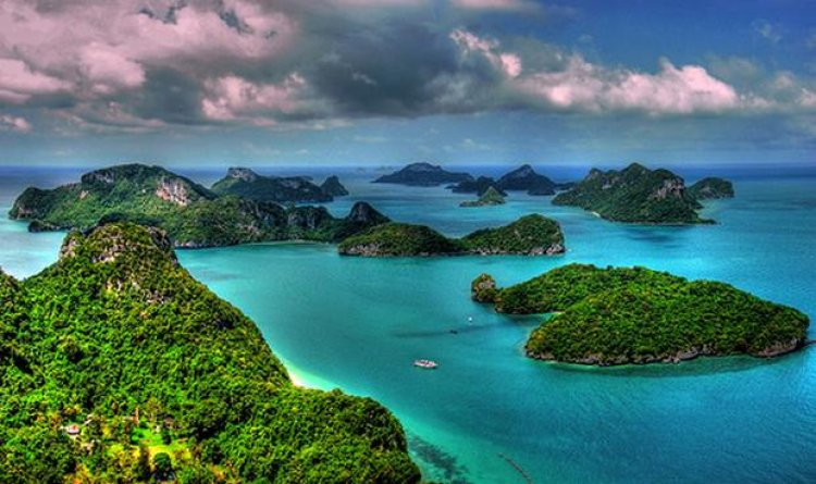 حديقة موكو انج ثونج البحرية