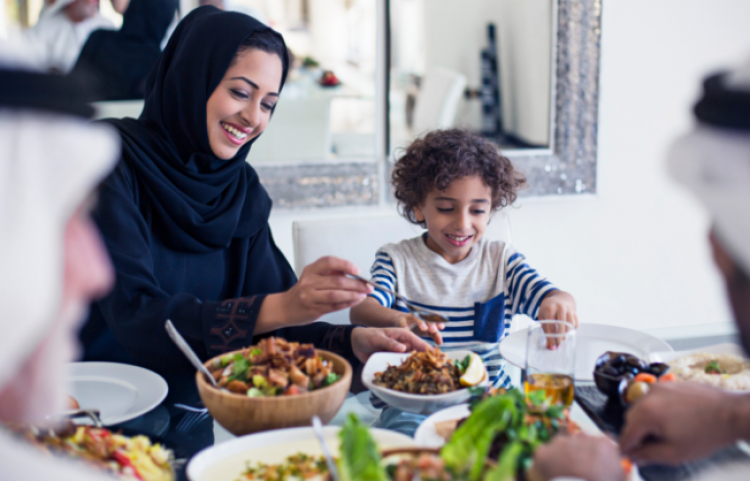 وجبات شرقية مميزة في هيلتون أبوظبي
