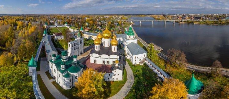 الحلقة الذهبية في مدينة ايفانوفا الروسية