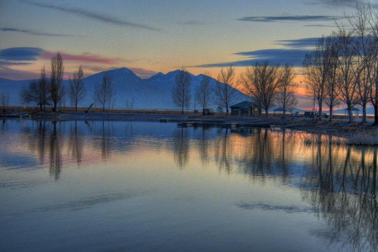بحيرة يوتا