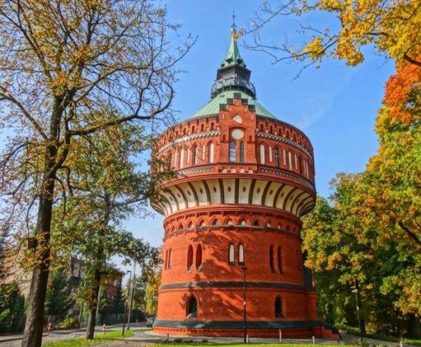 برج الماء في بيدغوشتش بولندا