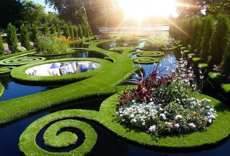 حديقة قبلة الفرنسية