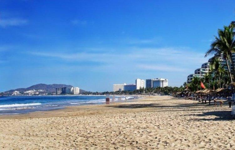 شاطئ بالمار في المكسيك