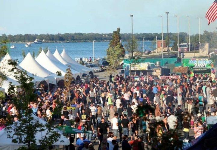 مهرجان وندسور في مدينة وندسور الكندية