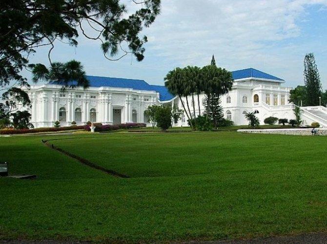 إستانا بيزار سلطان جوهور في جوهور باهرو ماليزيا