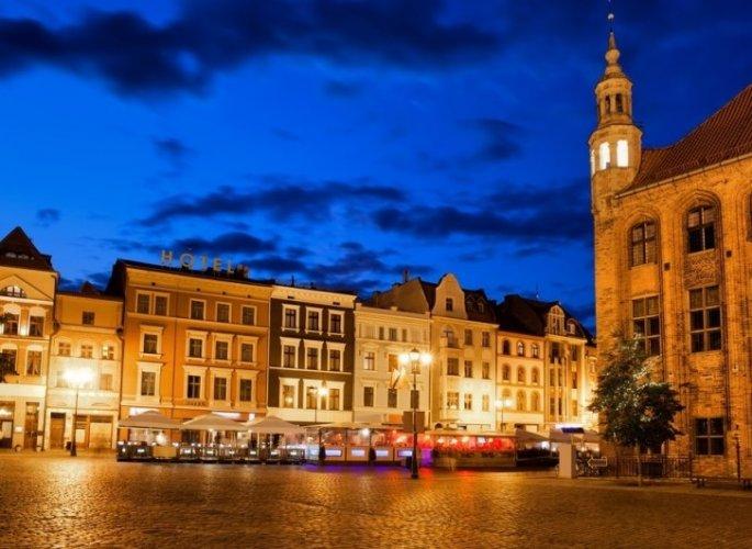 المدينة القديمة في مدينة تورون البولندية