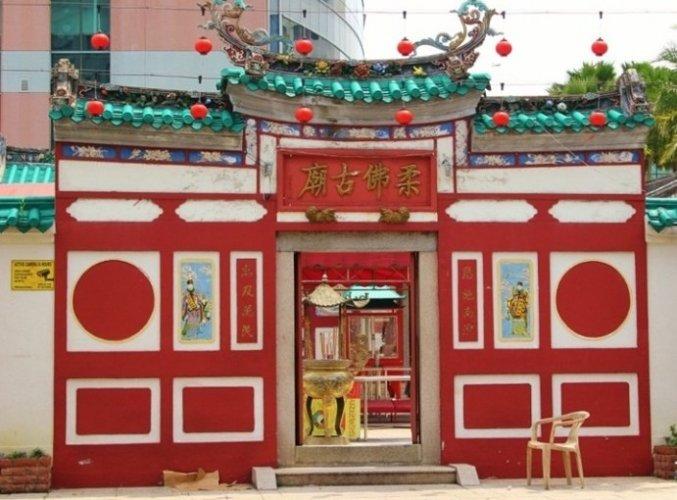 معبد جوهور باهرو الصيني القديم