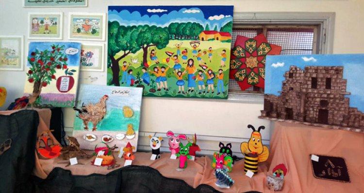 معرض الفن للأطفال في سمارا الروسية