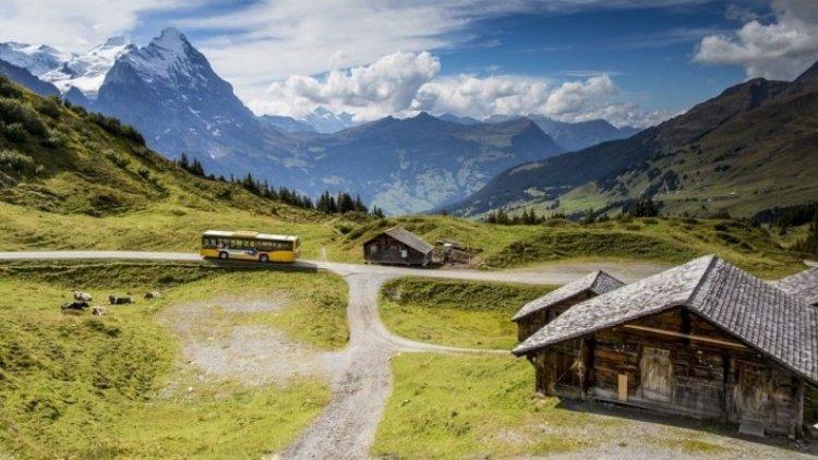 غروس شايديغ في جريندلفالد سويسرا