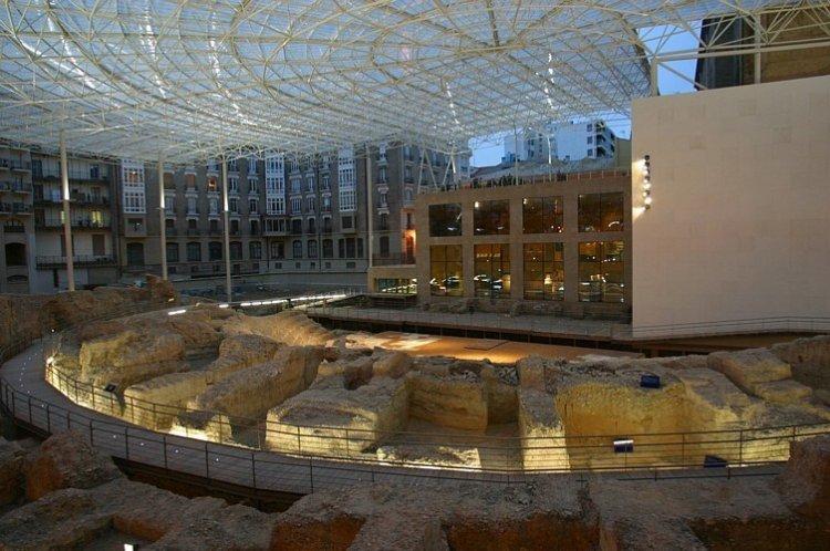 متحف del Foro de Caesaraugusta في سرقسطة الإسبانية