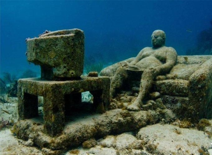 متحف كانكون تحت الماء