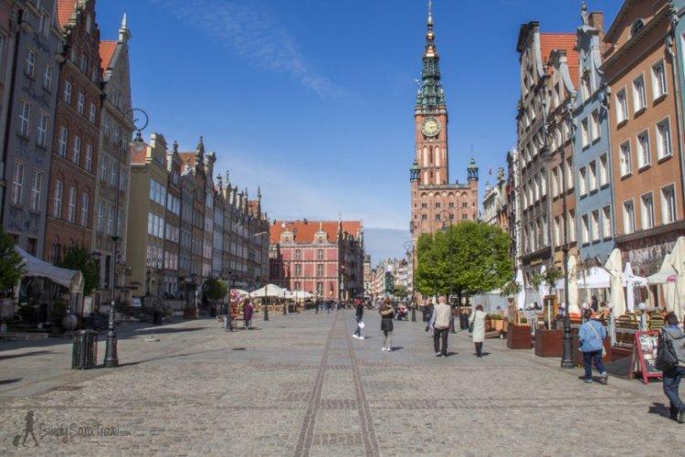 الطريق الملكي في مدينة غدانسك بولندا