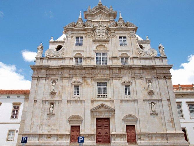 الكاتدرائية الجديدة في مدينة قلمرية البرتغال