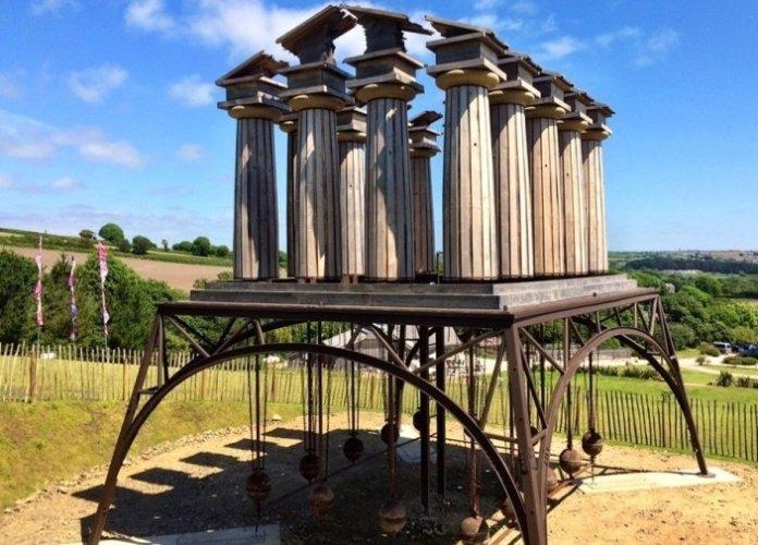 حدائق النحت تريمنهيري في بينزانس البريطانية