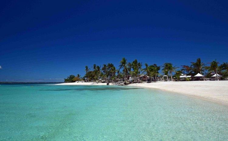 شاطئ جزيرة العذراء في الفلبين