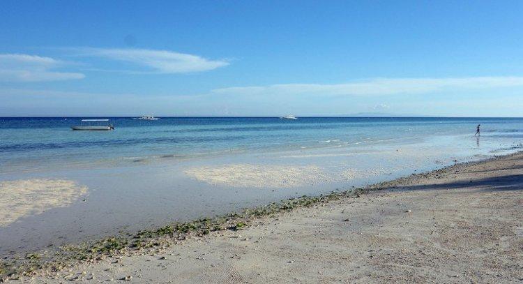 شاطئ دومالوان في الفلبين