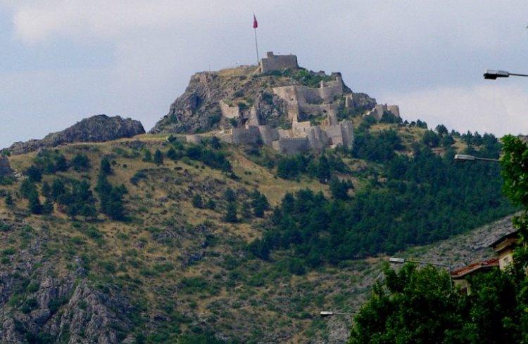 قلعة أماسيا في مدينة أماسيا التركية