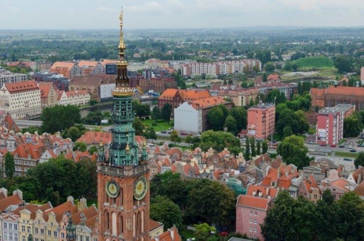 كنيسة سانت ماري في مدينة غدانسك بولندا
