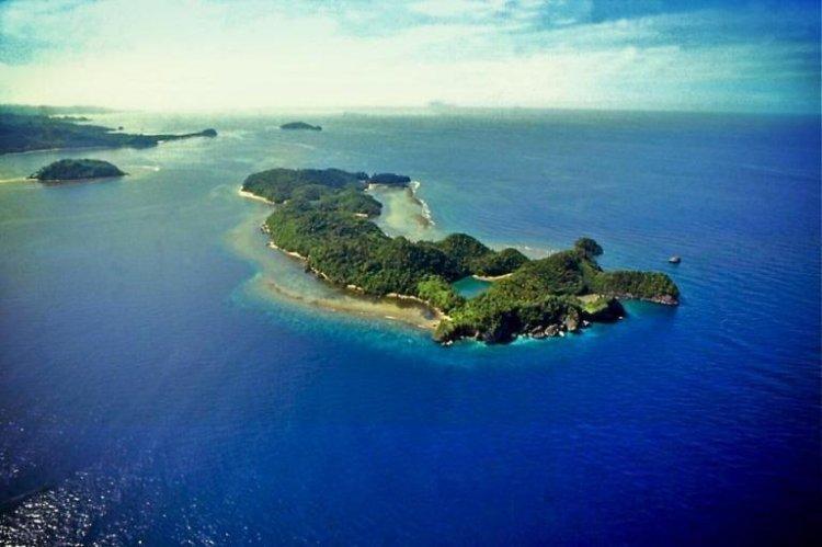 محمية جزيرة دانجوغان البحرية في جزيرة نيجروس الفلبينية