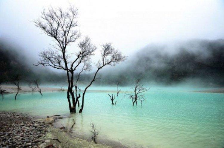 بحيرة كاواه بوتيه في باندونق