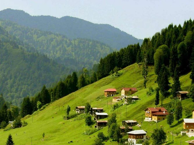 جبال أوزنجول